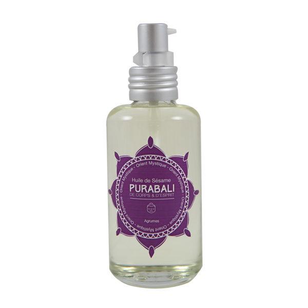 Huile de Sésame parfumée
