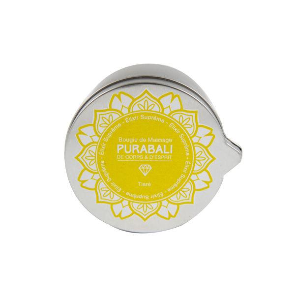 Bougie de Massage Relaxante 100% végétale - Tiaré des Iles