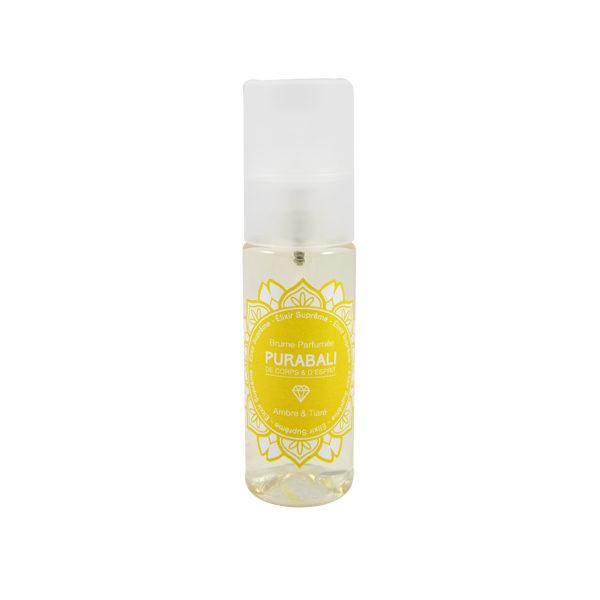 Brume Parfumée Corps et Cheveux - Ambre & Tiaré