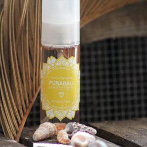 Brume Parfumée Corps et Cheveux – Ambre & Tiaré