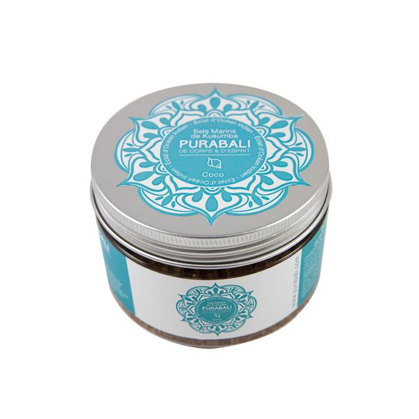 Sels de bain marins de Kusumba parfumés - Noix de Coco