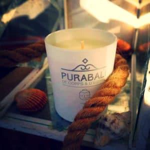 Bougie parfumée d'ambiance naturelle - Bouddha