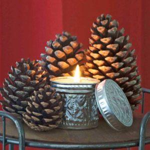 Bougie d'ambiance naturelle parfumée - Tradition