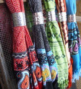 Sarongs Motifs indonésiens de Bali