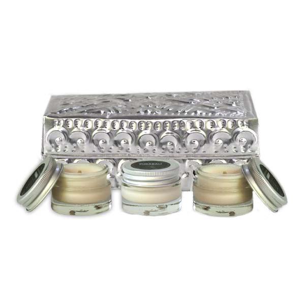 Coffret 3 bougies de massage individuelles