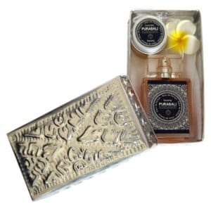 Coffret Cadeau tandem de Parfums + Savon lingot d'or OFFERT