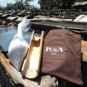 Sels de bain marins de Kusumba parfumés – Frangipanier