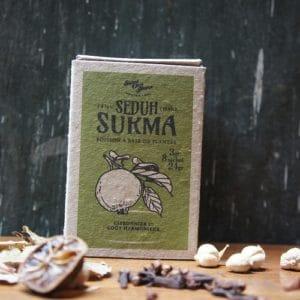 Boite de tisanes artisanales indonésiennes 8 sachets de 3 grs – Sukma