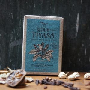 Boite de tisanes artisanales indonésiennes 8 sachets de 3 grs – Tiyasa