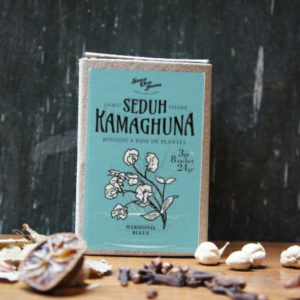 Boite de tisanes artisanales indonésiennes 8 sachets de 3 grs – Kamaghuna