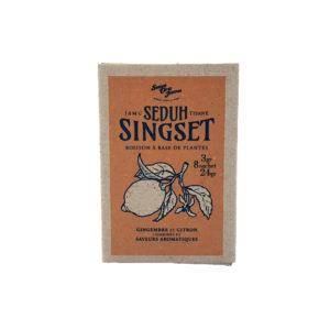 Boite de tisanes artisanales indonésiennes 8 sachets de 3 grs – Singset