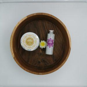 Kit Vasque+sels+gommage Rituel de bain de pieds balinais